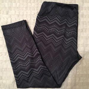 Prana Pants - PrAna Yoga Printed Leggings L